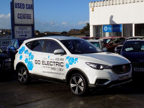 Used MG ZS EV  in Bideford, Devon for sale