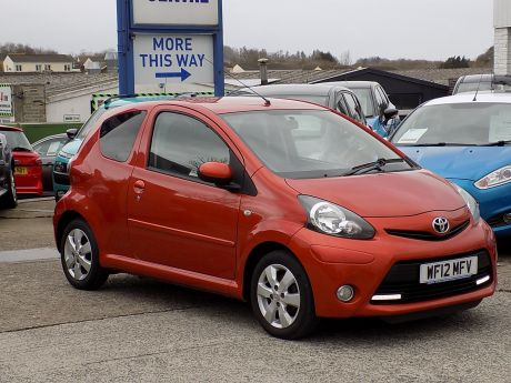 Used TOYOTA AYGO in Bideford, Devon for sale